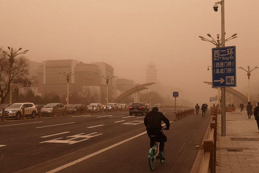 Gallery: Sandstorm Hits Beijing