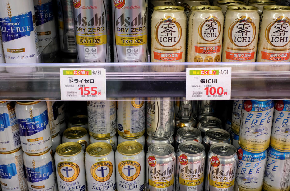 Analysis: A sobering strategy for pandemic times - Japan brewers bank on alcohol-free beer boom