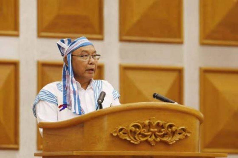 缅甸文人政府 誓言领导国人推翻军政府
