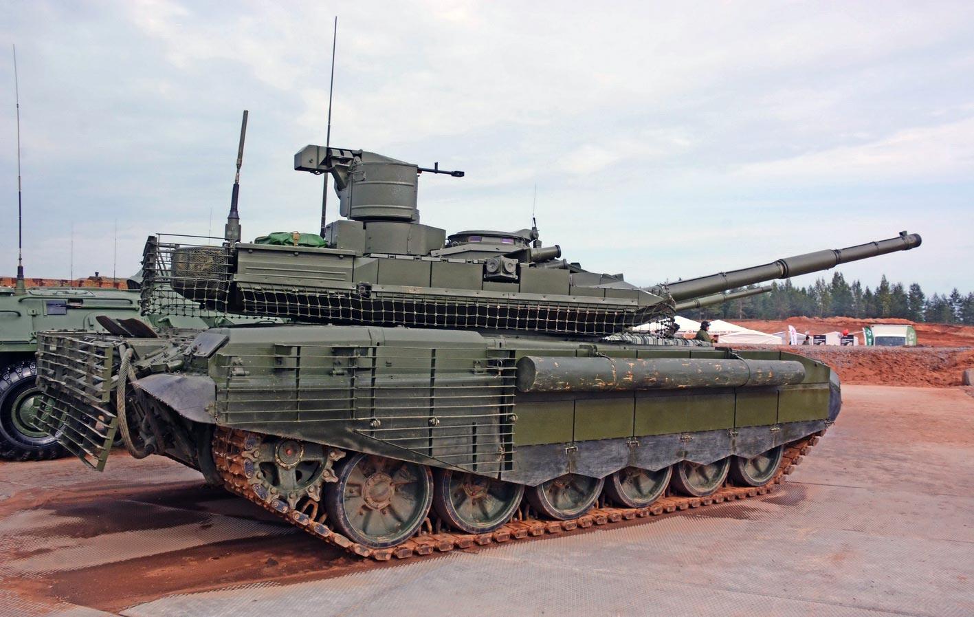 原创 战地之王:俄升级T-90M主战坦克入列8辆,它们堪称完美系列!
