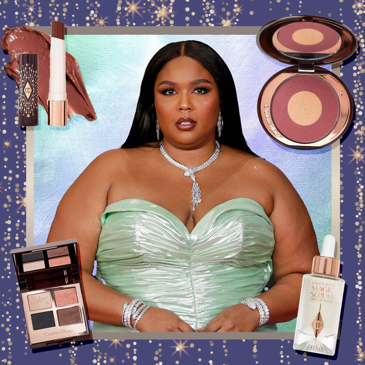 Get Lizzo's 2021 Grammys Beauty Look