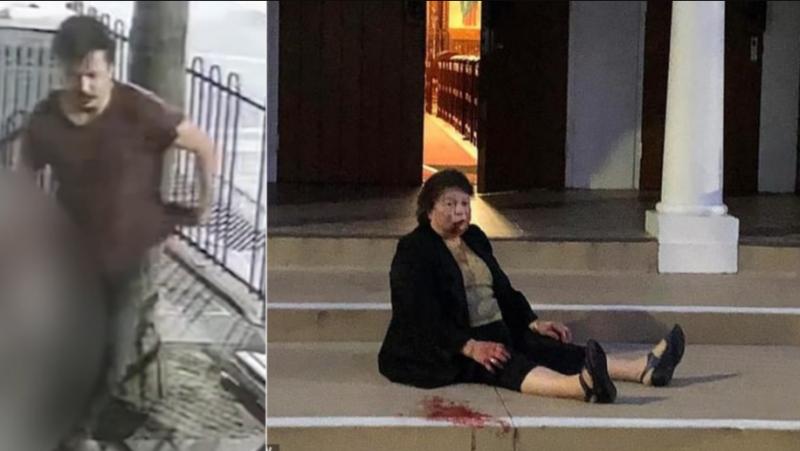 """维州警方公布墨尔本""""教堂袭击事件""""嫌疑人照片(组图)"""