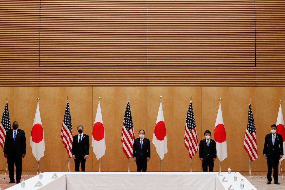 US, Japan warn against 'destabilising behaviour' by China
