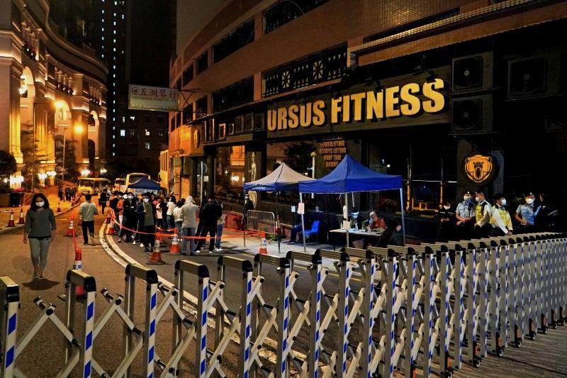 香港健身房感染群109例 医生:未来两周是关键