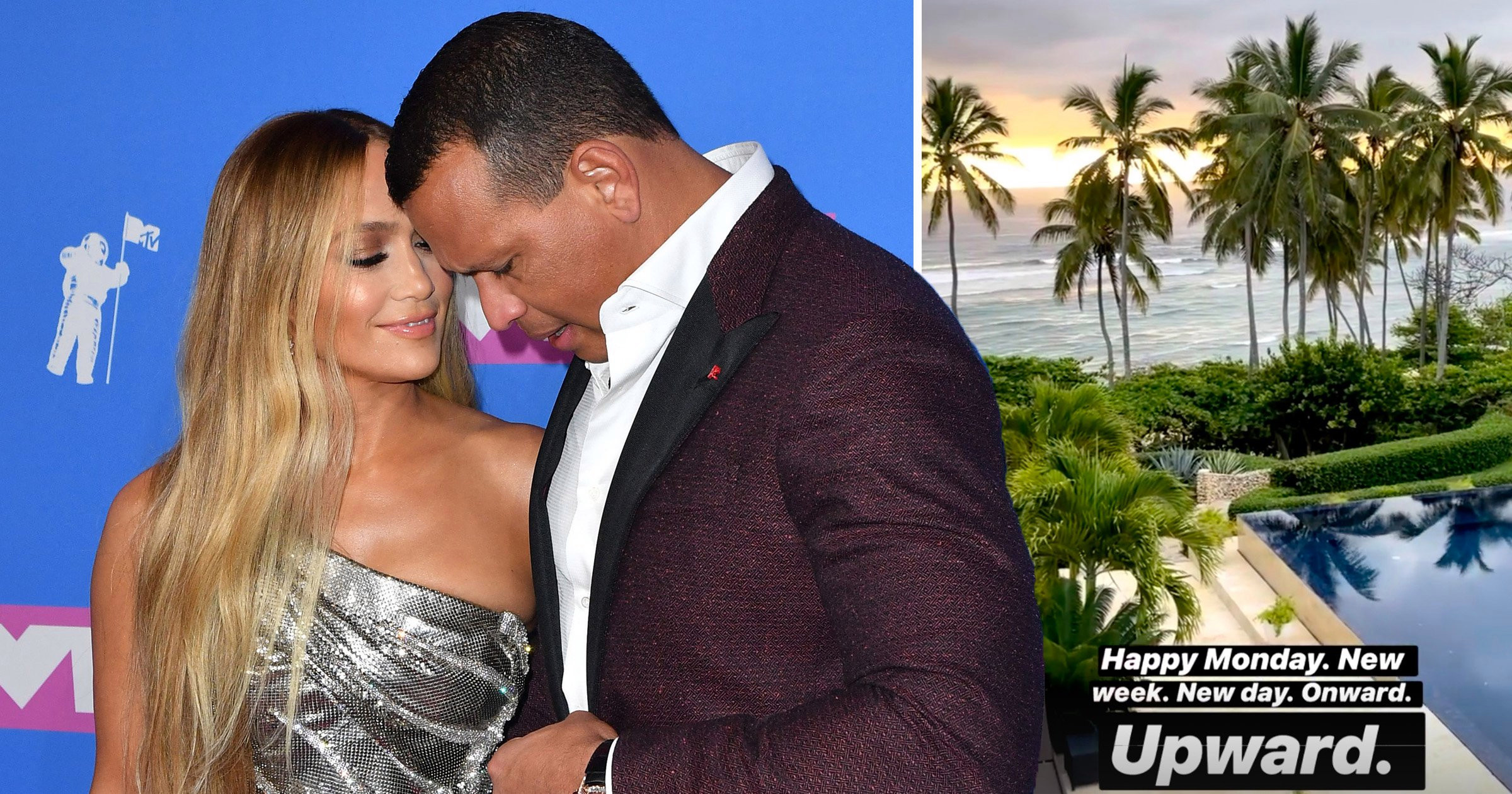 Jennifer Lopez reunites with Alex Rodriguez amid 'split' rumours as he flies in to Dominican Republic