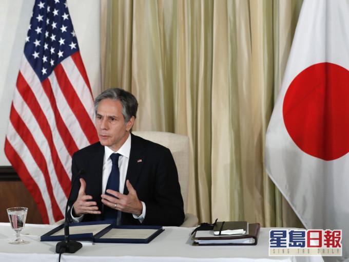 美国务卿及防长将在日本进行2+2会谈