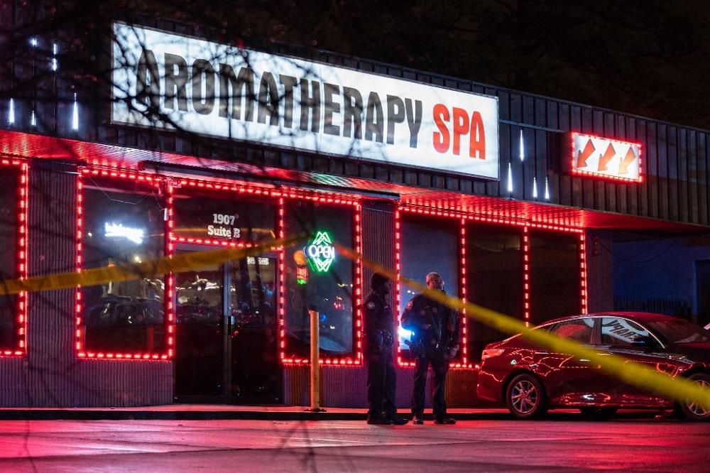 Eight killed in three separate spa shootings in Atlanta