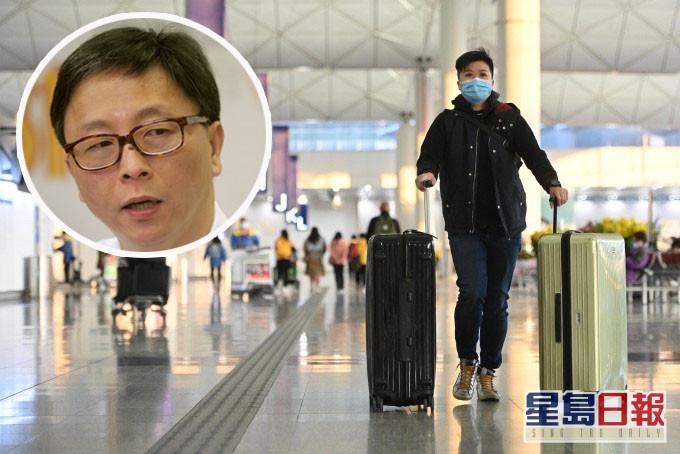 【疫苗护照】何栢良指需科学为本 倡考虑与日韩内地等商讨建「旅游通道」