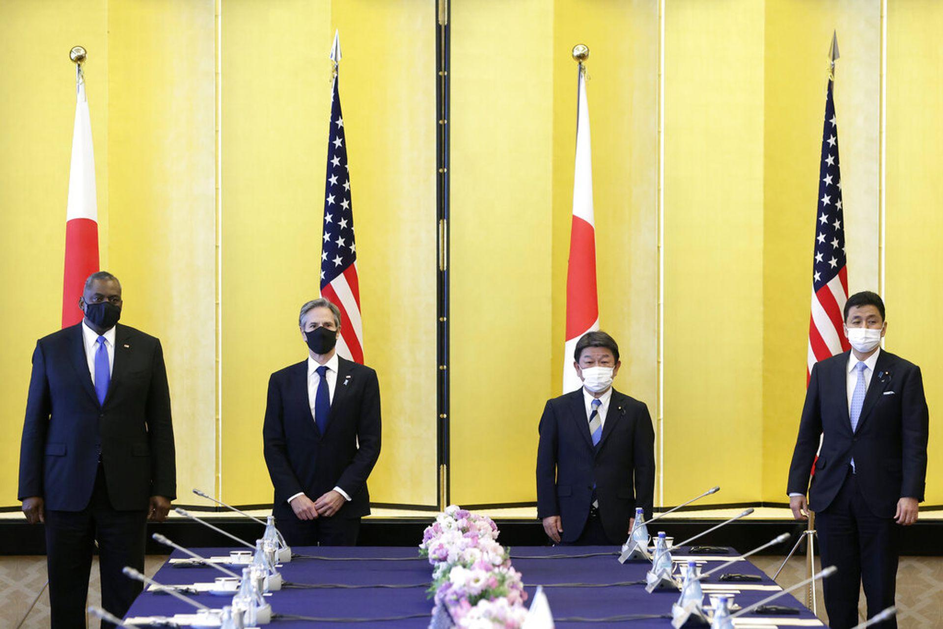 多维:日本成中美最前线 拜登盟友外交指向何方(组图)