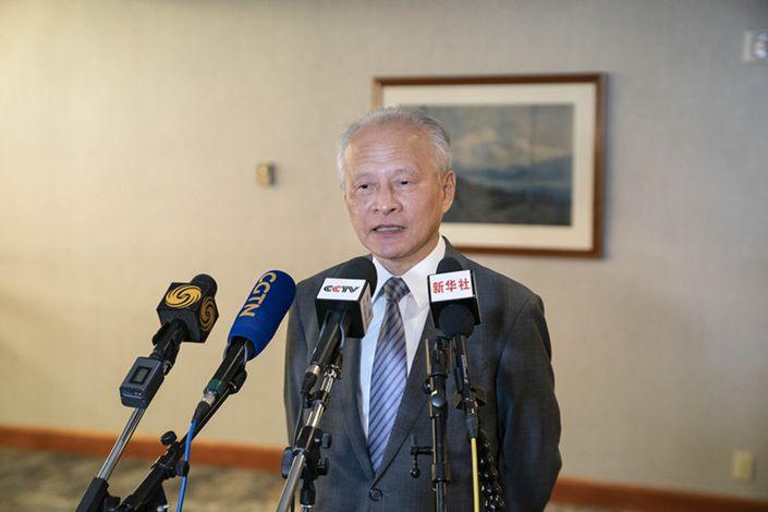 China Won't Back Down on 'Core Interests,' Ambassador Warns U.S.