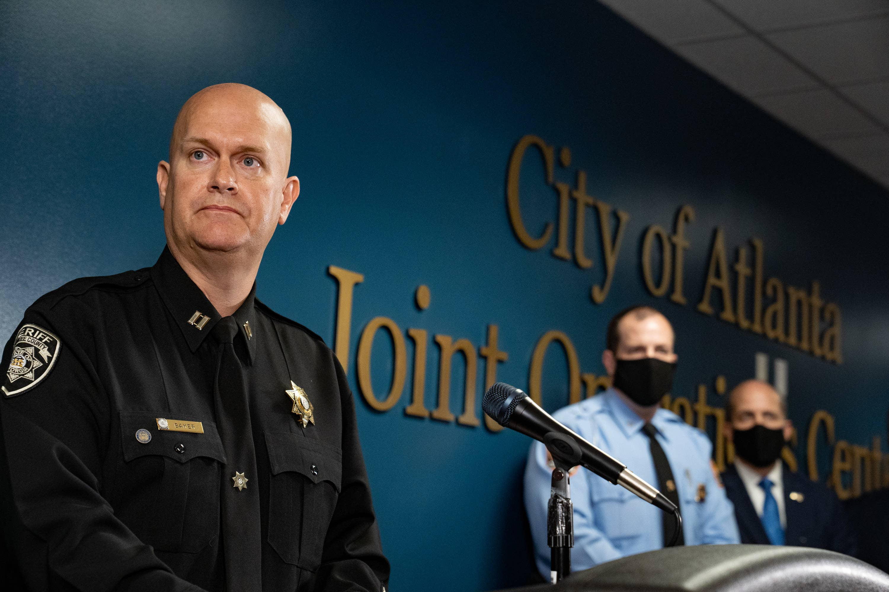 """The Cop Who Said The Spa Shooter Had A """"Bad Day"""" Previously Posted A Racist Shirt Blaming China For The Pandemic"""