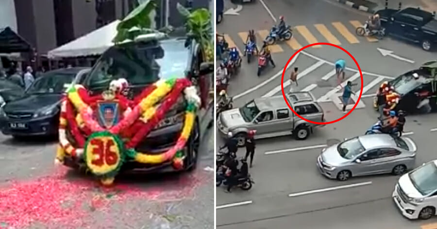 5 Arrested After Setting Off Firecrackers During Gang Member's Funeral Procession In KL
