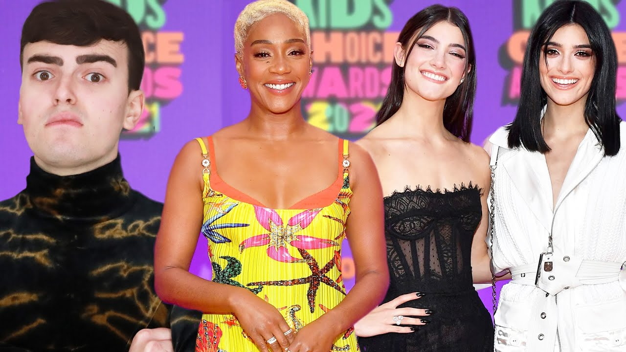 Kids Choice Awards 2021 Fashion Roast (D'Amelio Style Disaster)