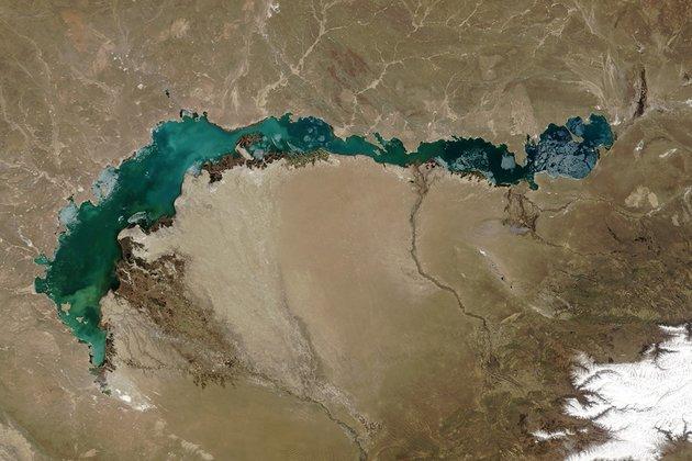 China's water use threatens Kazakhstan's other big lake