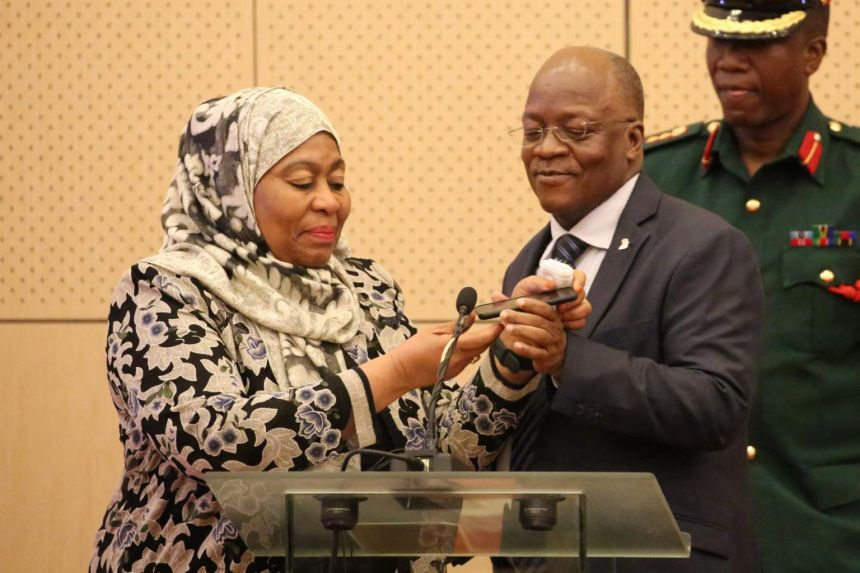 Tanzania to swear in first female president after death of Magufuli