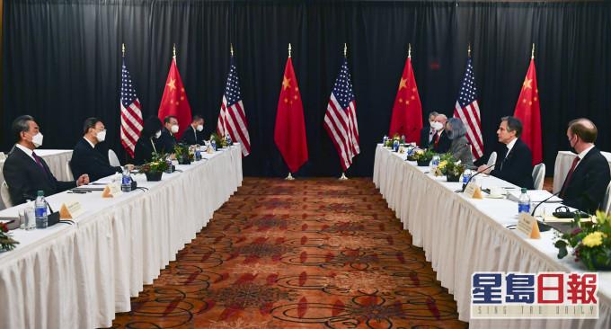 【中美高层战略对话】首场会议结束双方发言针锋相对