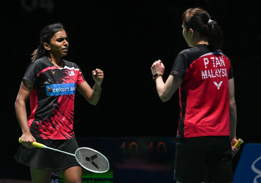 100PLUS appoint shuttlers Pearly-Thinaah as brand ambassadors