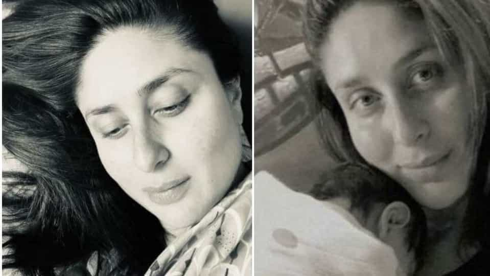 Kareena Kapoor can't stop staring at her newborn baby. Check out her new pic