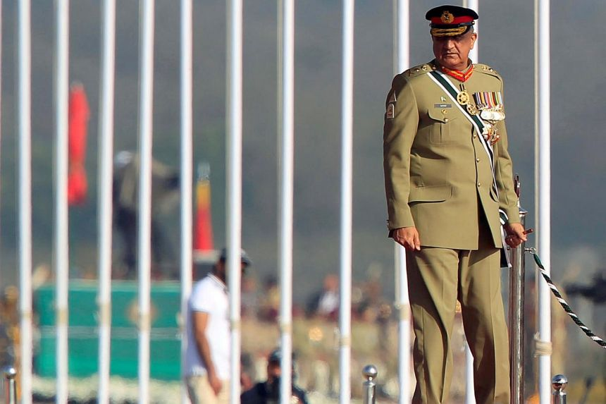Pakistan's army chief says country ready to bury hatchet with India