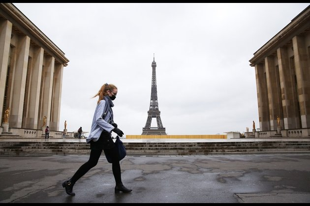 The latest: France orders partial COVID-19 lockdown for 16 regions