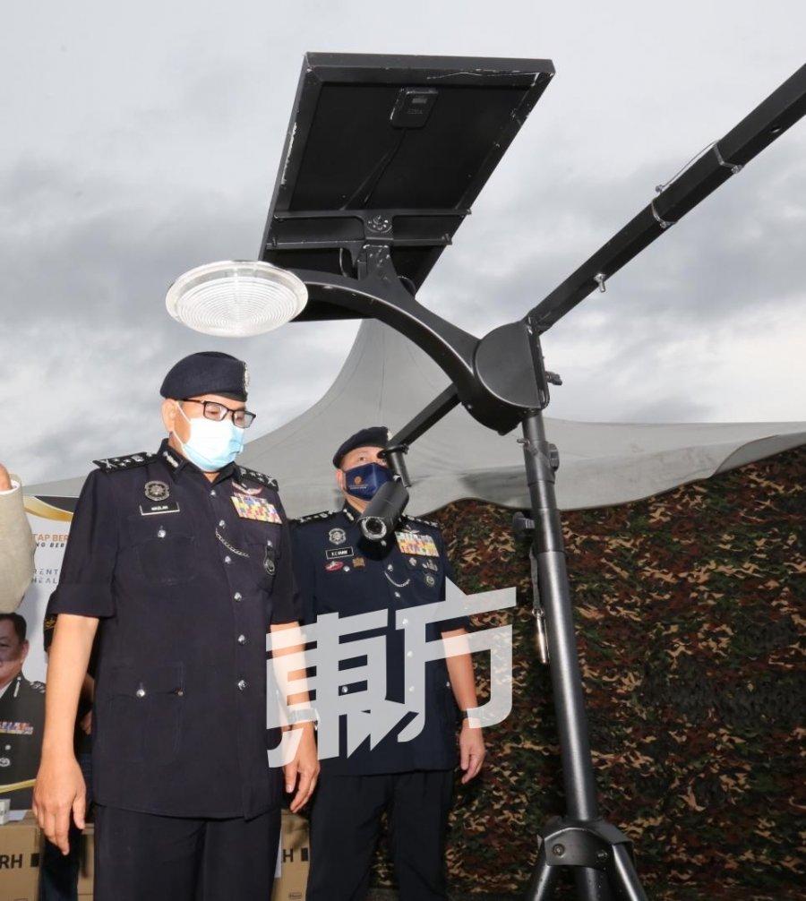 玛兹兰冀警队续获供应防疫用品