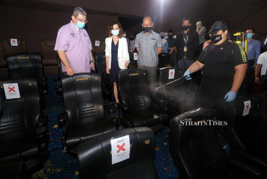 'Help revive entertainment industry by going to cinemas'