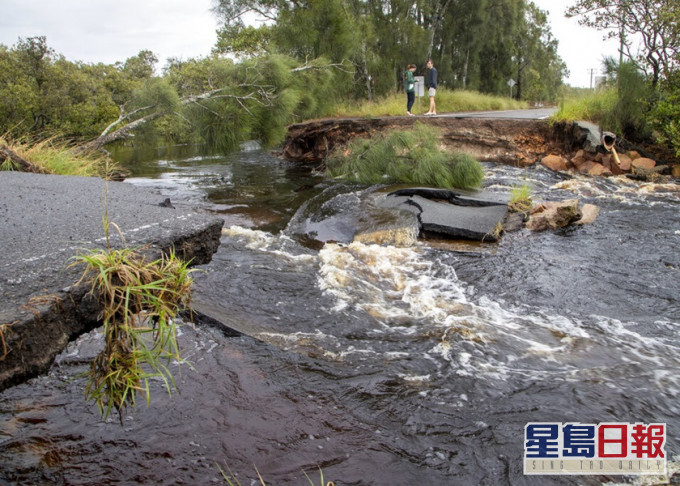 澳洲东部暴雨引发水浸 或影响新冠疫苗运送