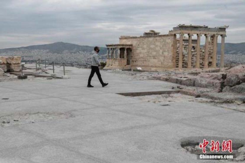 希腊放松部分封锁措施 疫苗预约平台面向更多人群