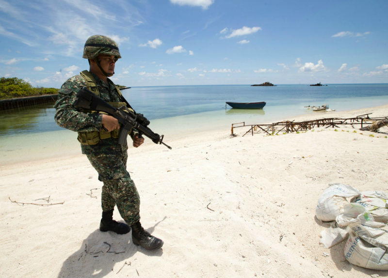 Philippines spots hundreds of Chinese 'militia' boats near disputed reef
