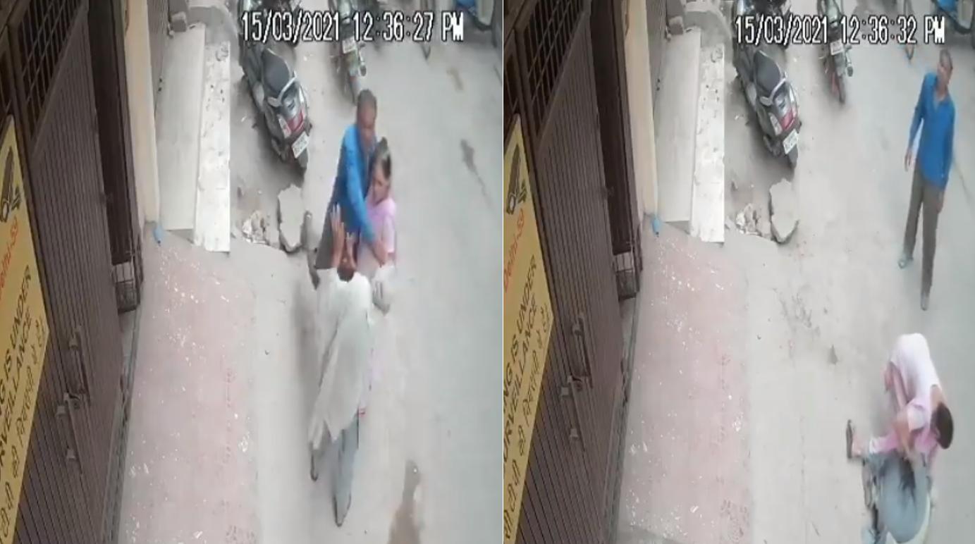 印度七旬老妇  被儿子一巴掌打死