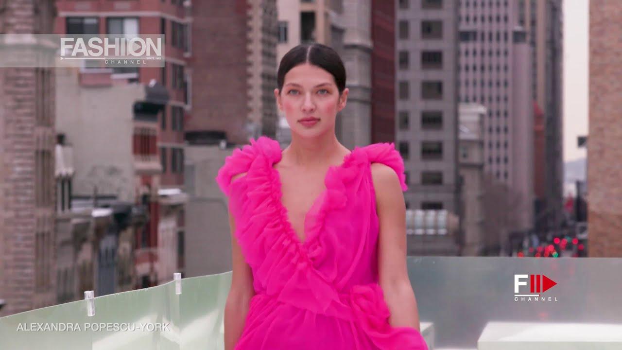 ALEXANDRA POPESCU-YORK Fall 2021 New York - Fashion Channel