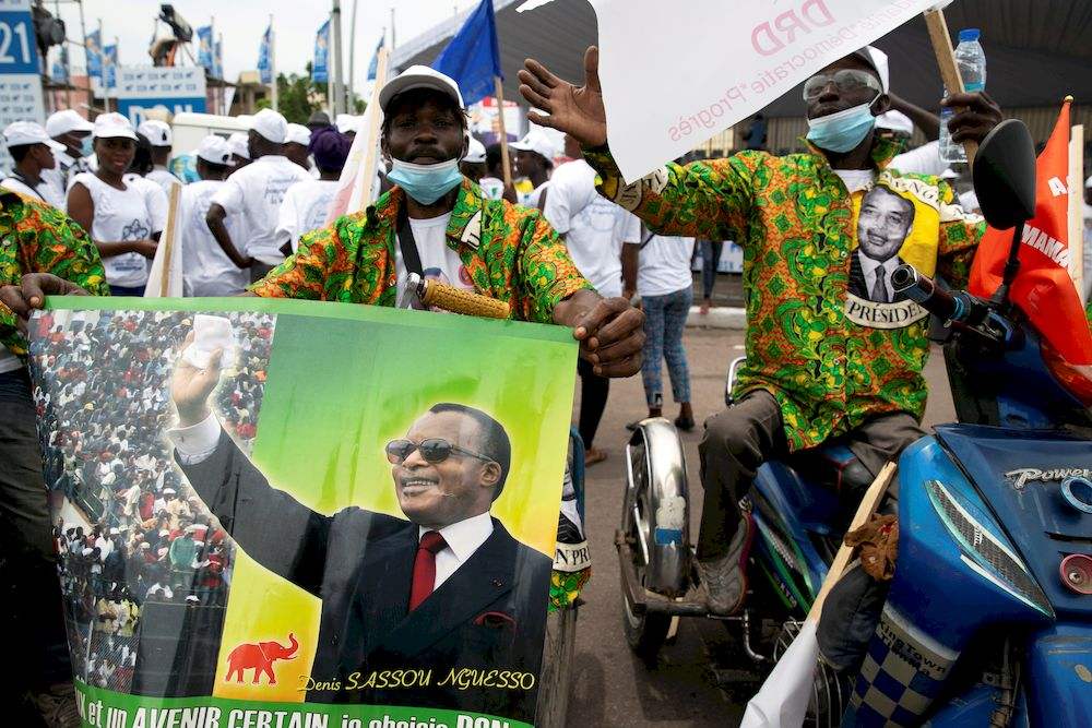Veteran leader Sassou Nguesso the favourite as Congo heads into polls