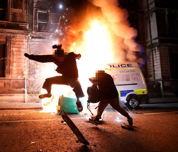 Bristol riots: 20 police officers hurt including one with collapsed lung as 7 arrested