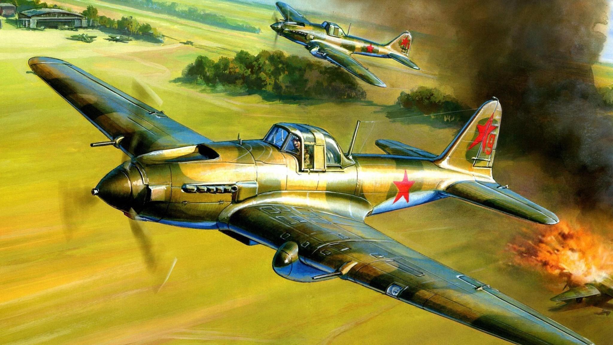 """原创 战场上的""""黑死神"""",斯大林对其青睐有加,二战产量最大的攻击机"""