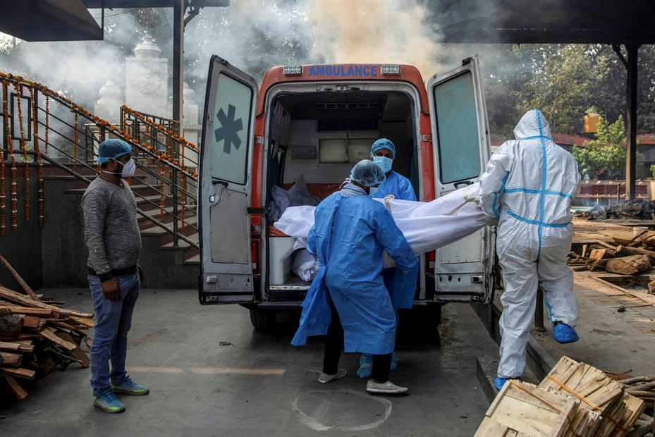 India reports most COVID-19 deaths since early January