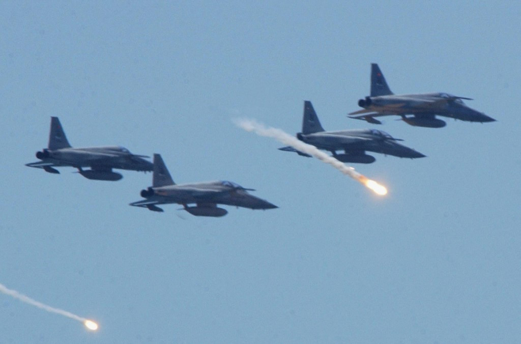 Taiwan pilot killed, another missing after fighter jets collide