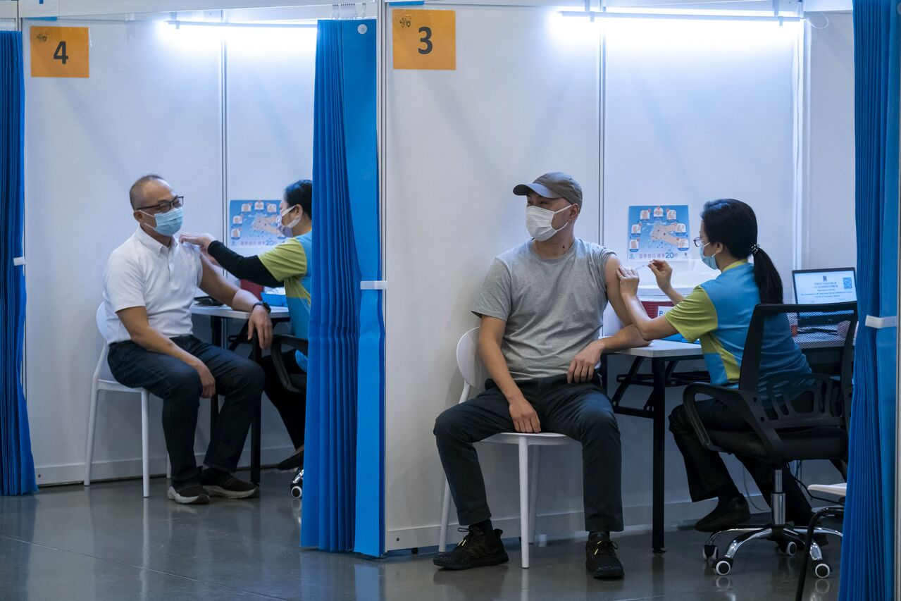 Hong Kong Covid-19 vaccine roll-out hampered by reliance on Chinese shots