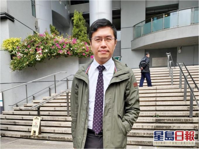 区诺轩大声公袭警判社服令 律政司申覆核指原审低估罪行严重性