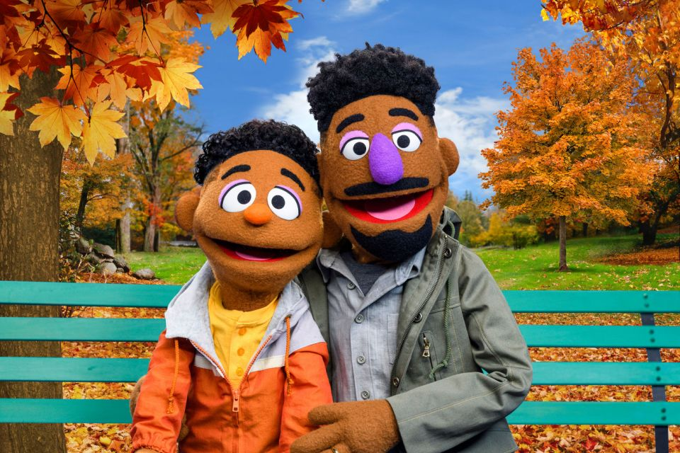 Sesame street' introduces 2 black muppets for powerful series on race |  Nestia