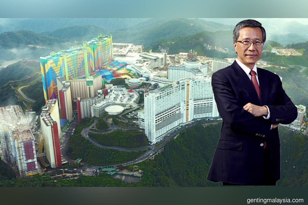 Genting Singapore says chairman Lim Kok Thay took more than 50% pay cut in FY20, not big increment