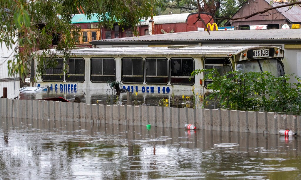 Thousands evacuated in Australia's worst flooding in almost 50 years
