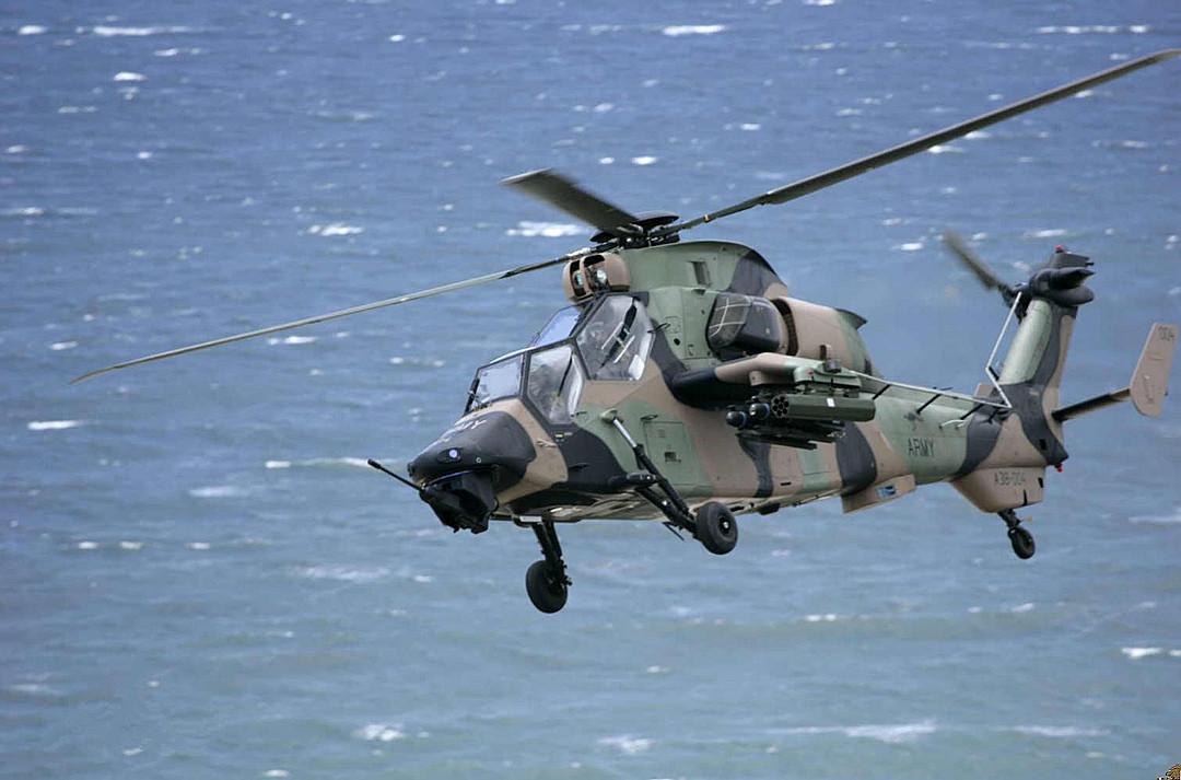 """原创 欧洲顶尖直升机:""""虎""""式直升机堪称是世界首架可制空作战用直升机"""
