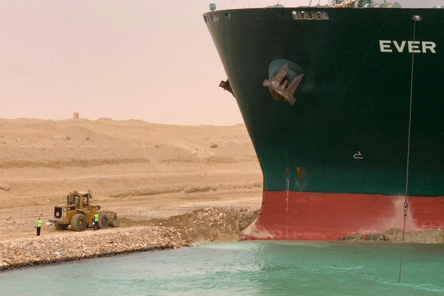 Suez blockage puts spotlight on mega ships and the problems they pose