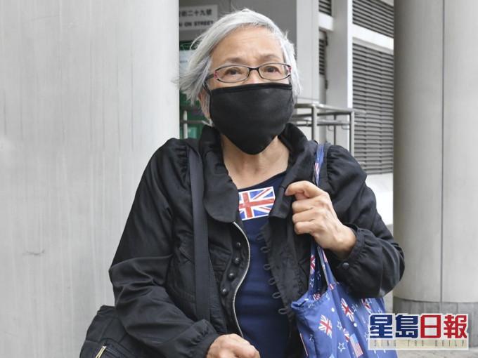 「王婆婆」涉高院袭保安自辩 指无足够时间阅文件准押后开审
