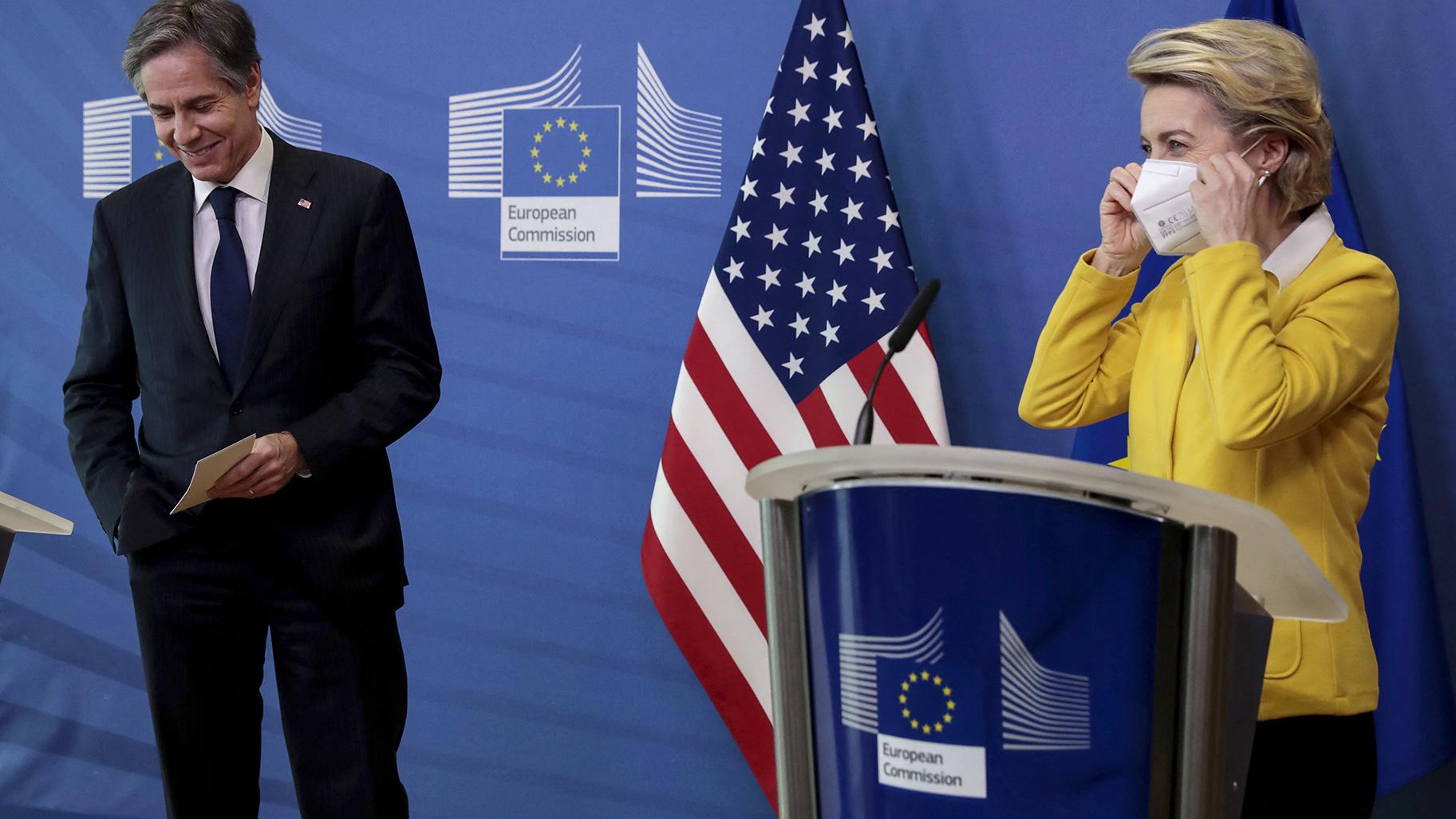 布林肯访问欧洲成果初现 中国战狼帮了大忙