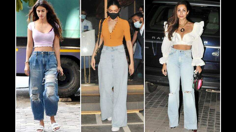 Bigger and wider: Baggy denims in, skinny jeans out?