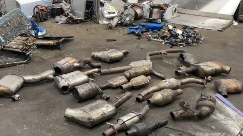 Catalytic converter thefts: Surge in cases reported to Met Police