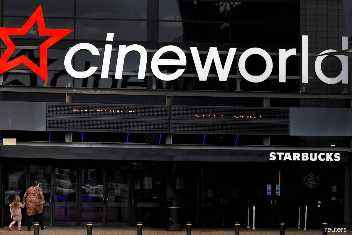 Cineworld looks to raise debt cap after US$3 billion loss in 2020