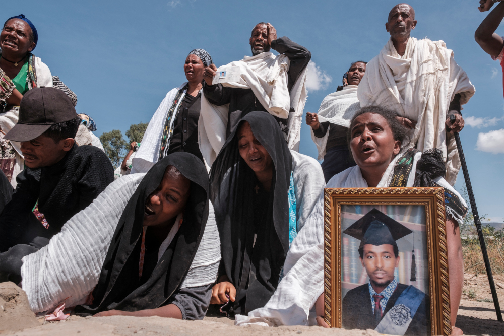 Men forced to rape family members in Ethiopia's Tigray, says UN