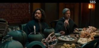 出现中式食物扭曲歷史惹网民不满 韩剧《朝鲜驱魔师》播2集即被腰斩